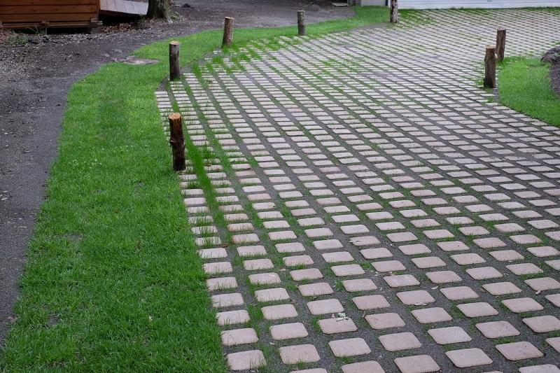 軽井沢のお庭