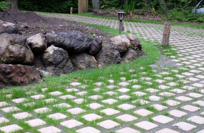 軽井沢の庭造り