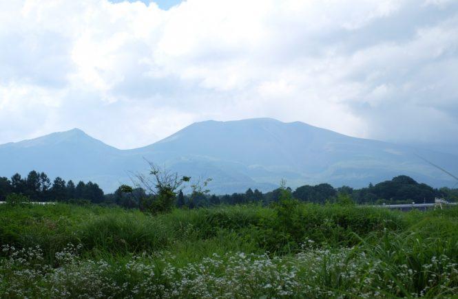 軽井沢の景色